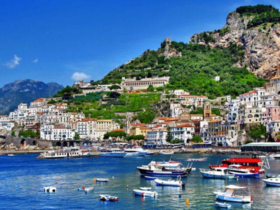 Неаполь побережье амальфи